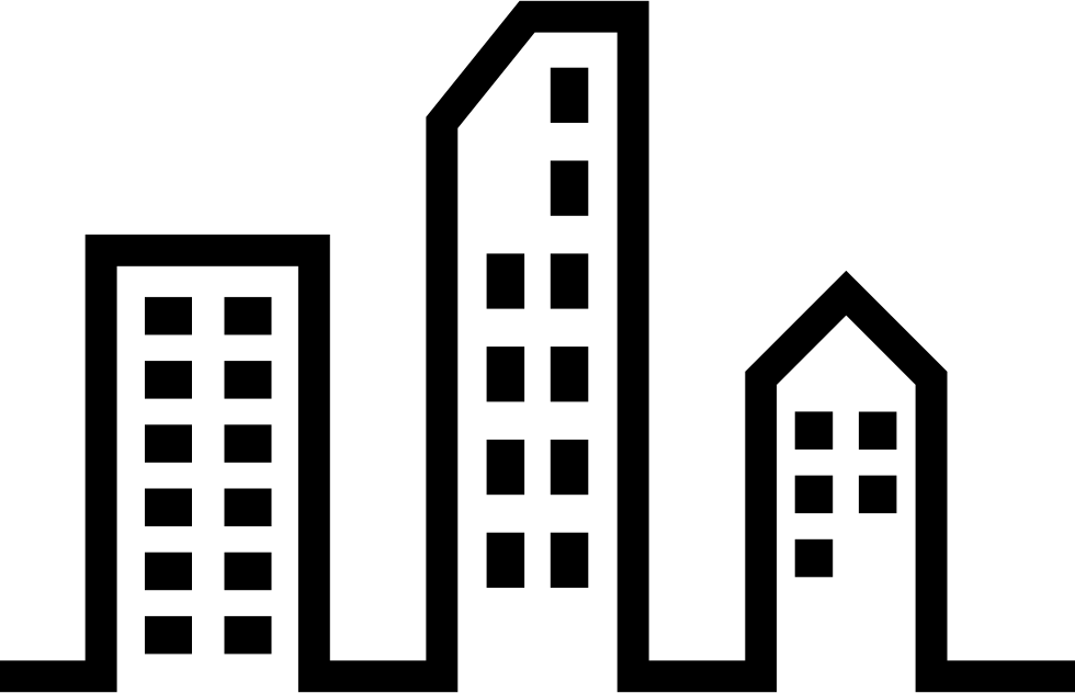 Drill clipart architecture construction. Modern city buildings svg