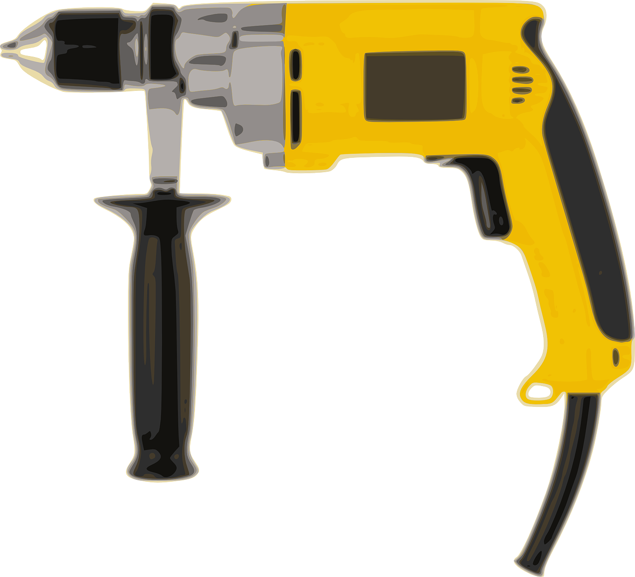 Drill clipart boring machine. Power png image picpng