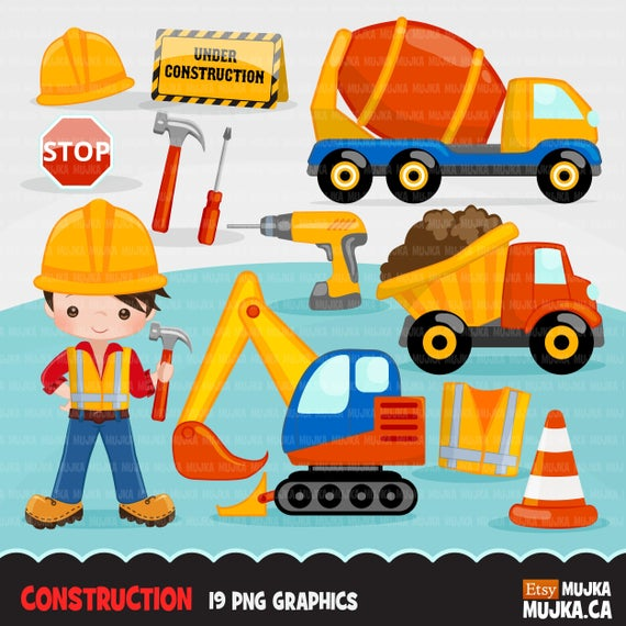 Construction little contractor graphics. Drill clipart boy