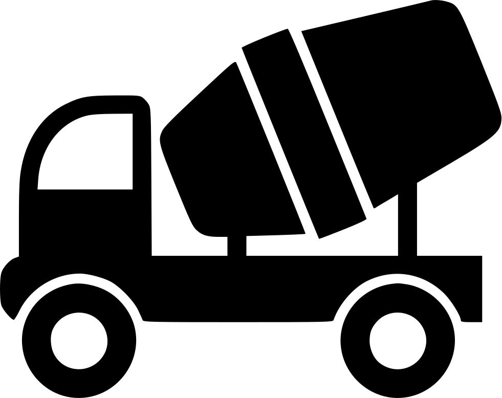 Mixer truck svg png. Drill clipart cement worker