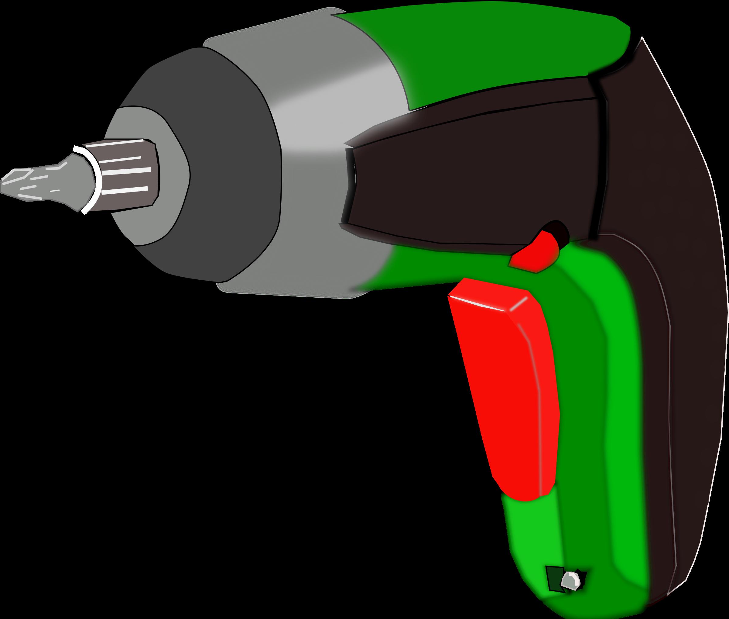 screwdriver clipart electric