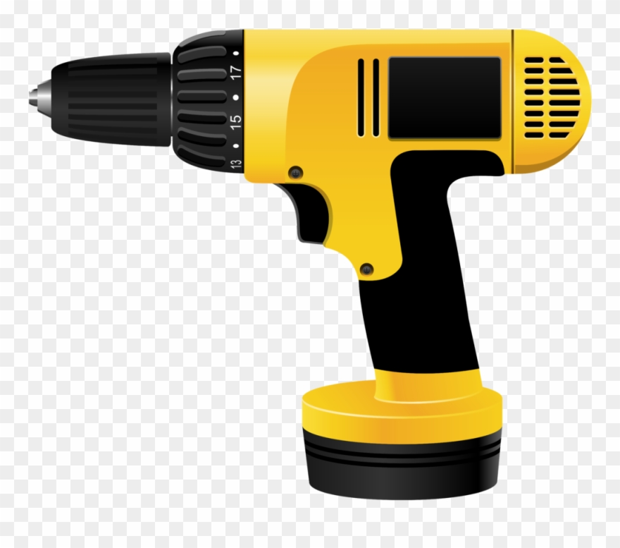 Drill clipart electrical tool. Download electric screwdriver png