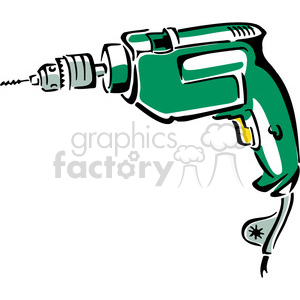 Electric royalty free . Drill clipart electrical tool