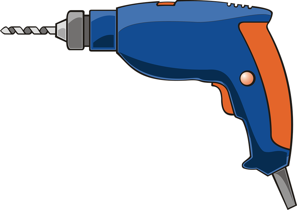 Drill clipart electrical tool. Free photo hole tools