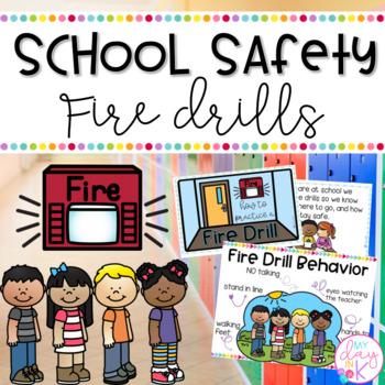 Drill clipart emergency drill. Fire folder worksheets teaching