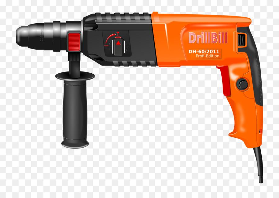 Drill clipart hand drill. Cartoon carpenter product transparent