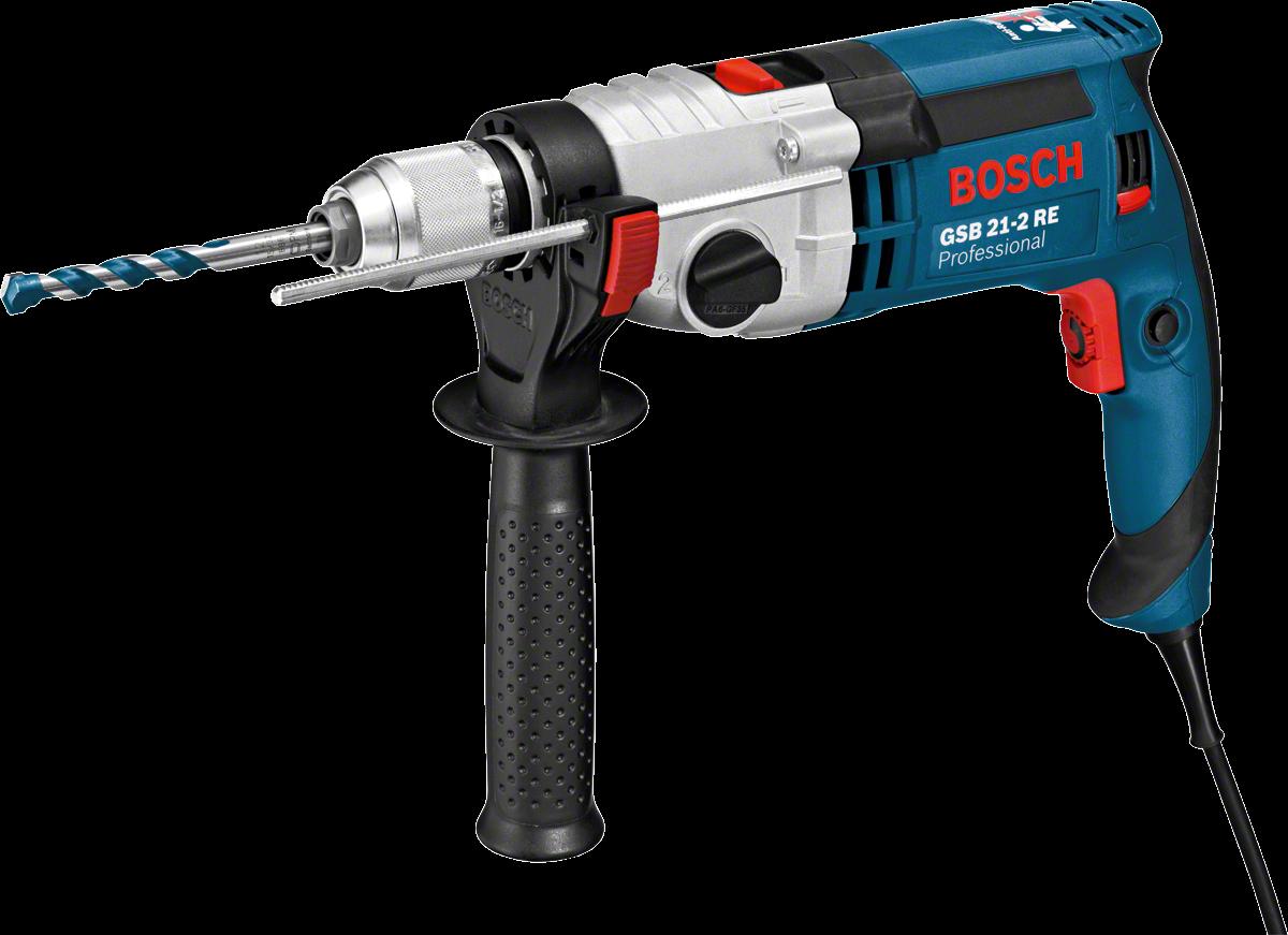 Drill clipart pneumatic drill. Gsb re professional bosch