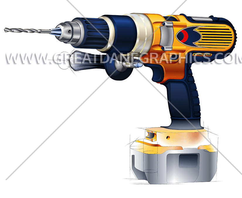 Drill clipart pneumatic drill. Outline production ready artwork