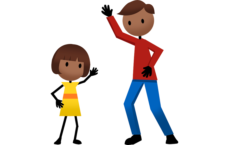 Activities active for life. Exercising clipart childrens