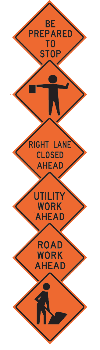 Drill clipart road worker. Work zone roll up