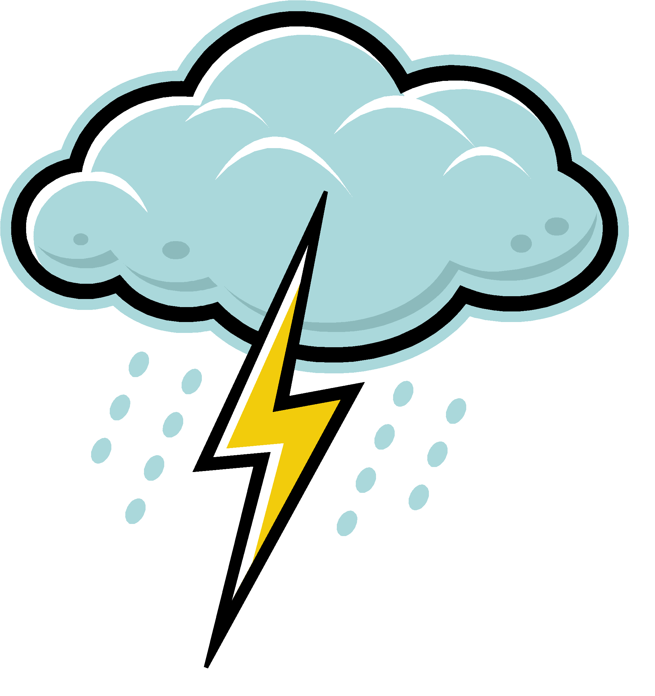 Thunderstorm clipart thunderstorm safety. Orientation pptx when the
