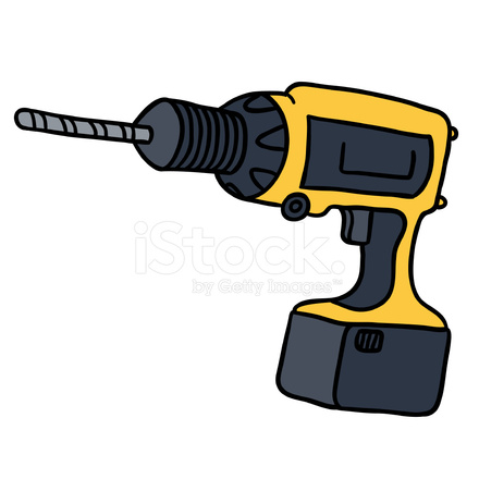 Stock vector freeimages com. Drill clipart working