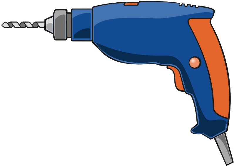 Drill clipart working. Medium image png