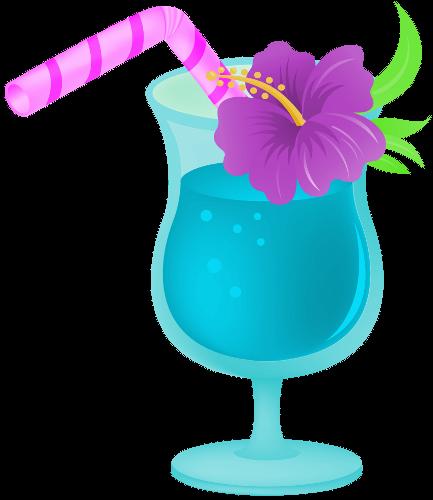 Drink clipart. Clip art hawaiian tropical
