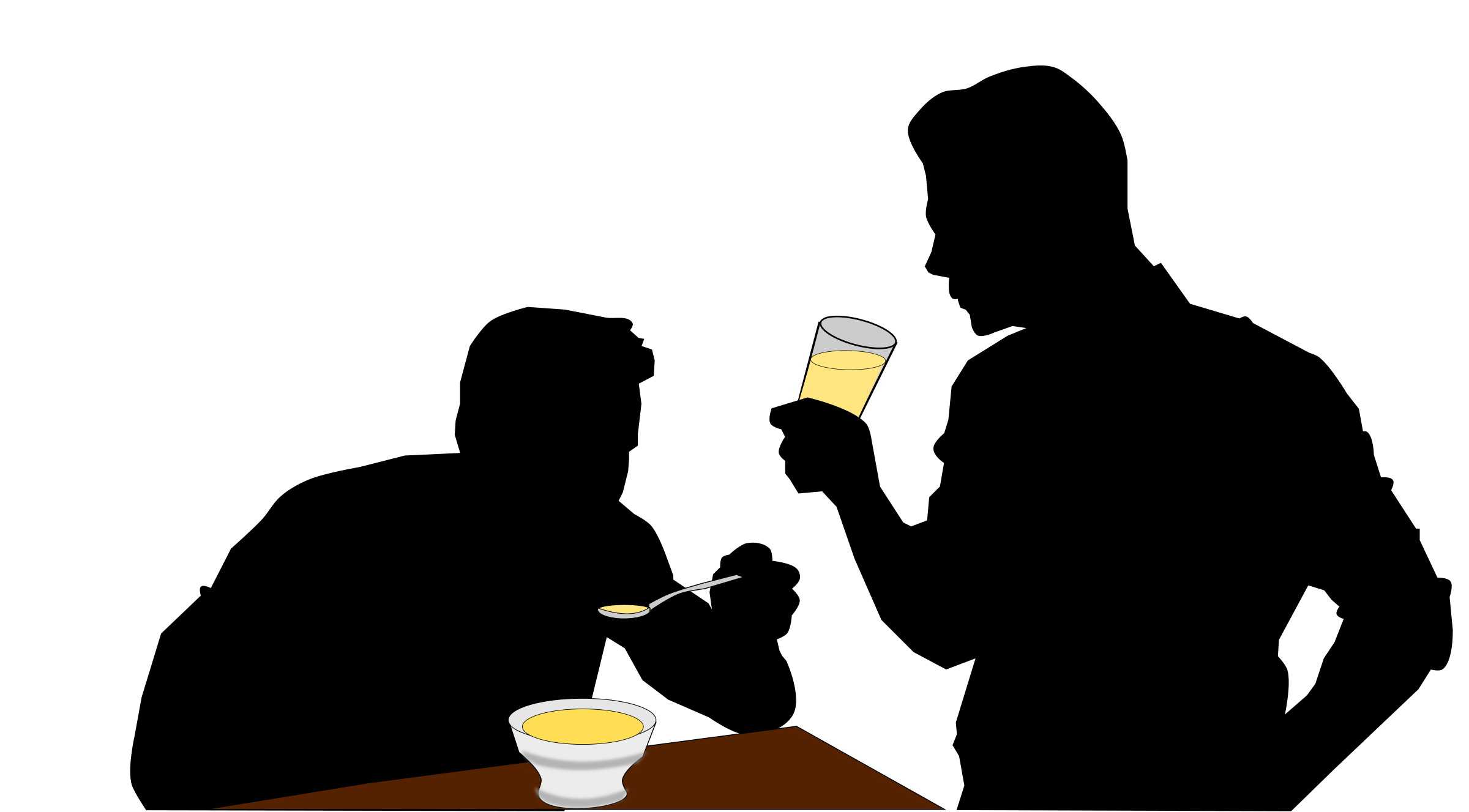 Drink clipart alcohol. Eating and drinking big