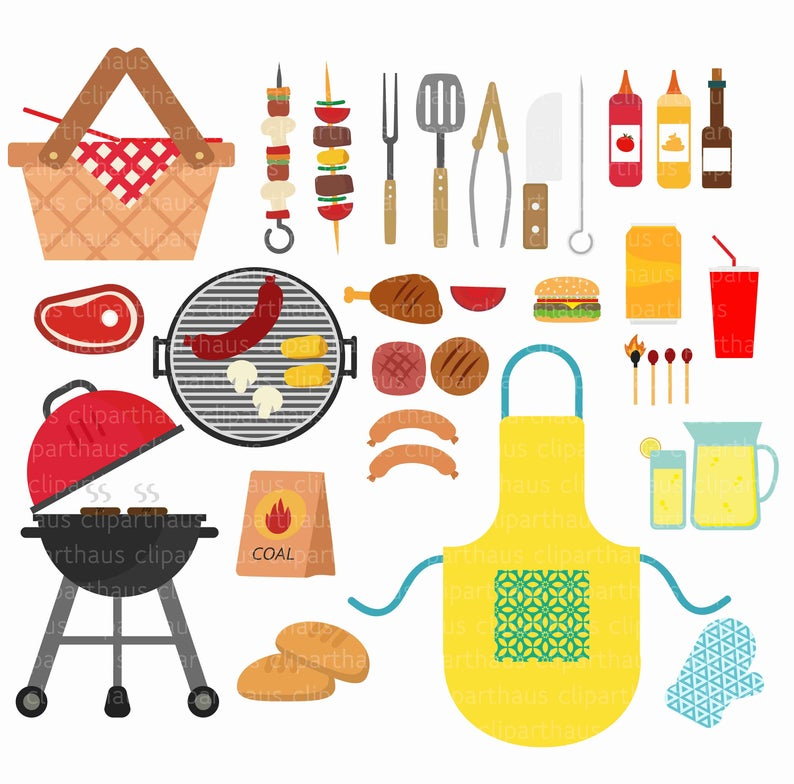 Barbeque svg clip art. Drink clipart bbq