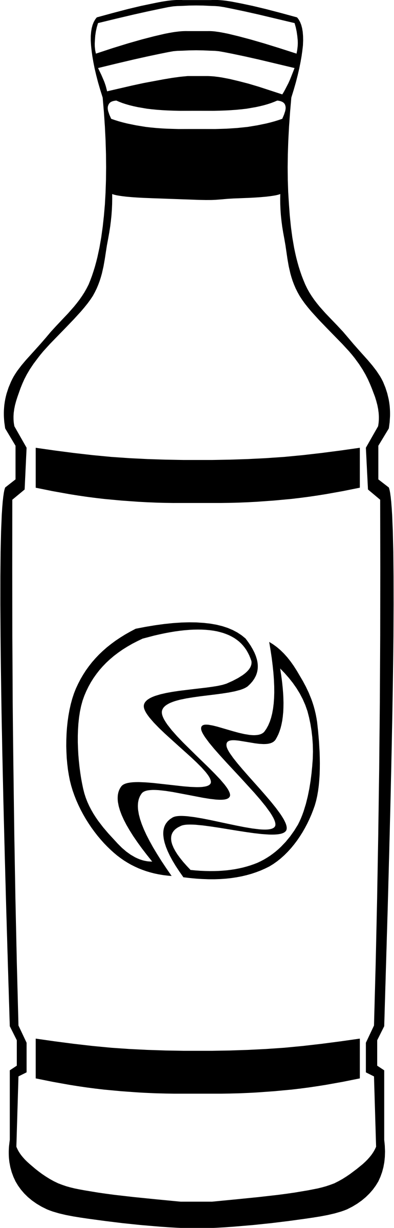 Fast food drinks bottle. Drinking clipart black and white