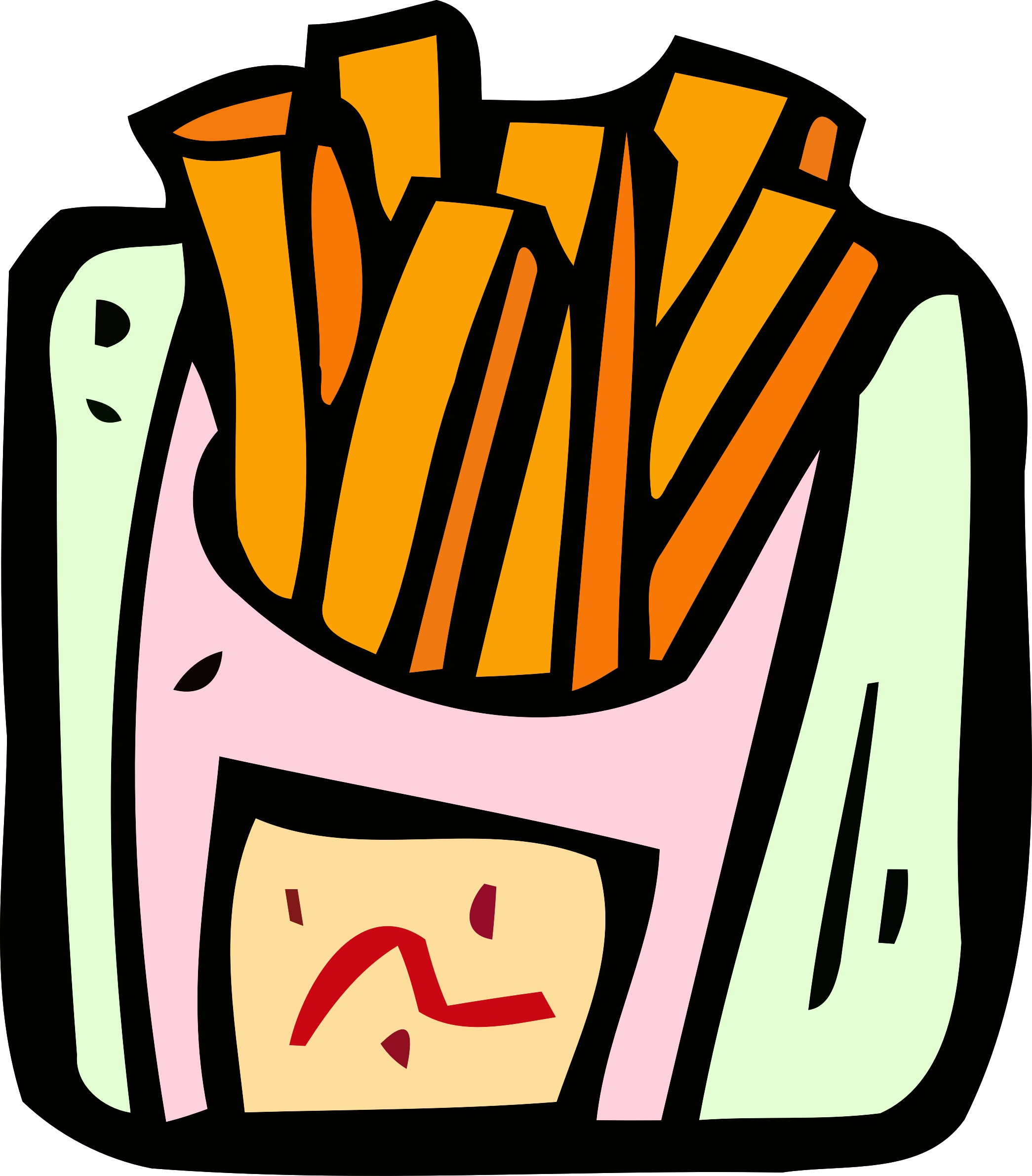 Food and drink icon. Drinks clipart fry
