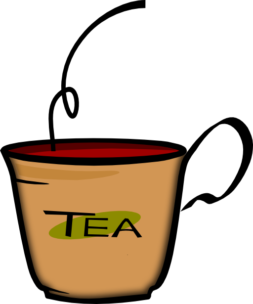 Drinks clipart cup hot tea. Of i royalty free