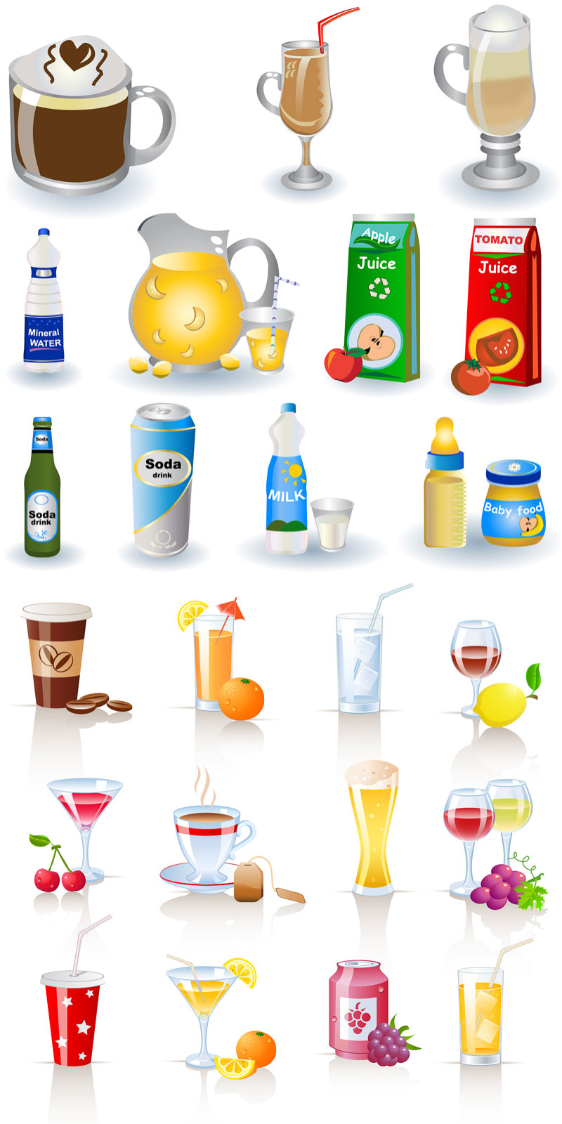 Free drinks cliparts download. Drink clipart drink menu