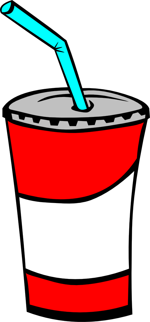 Fast food drinks soda. Drink clipart drinking colon