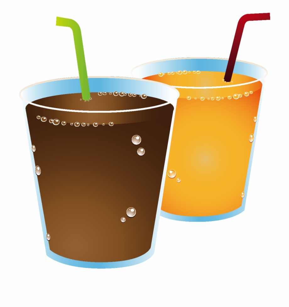 Drink clipart fizz. Cartoon juice elements free