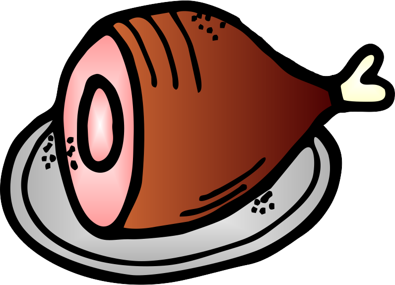 Worksheetjunkie free am word. Ham clipart prosciutto