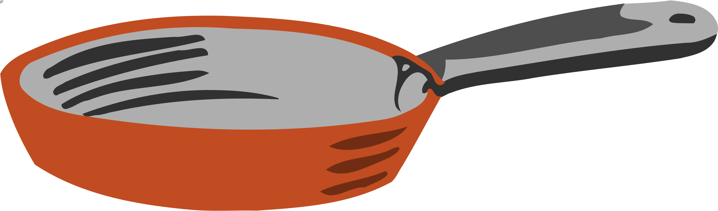 Frying pan utensil clip. Fries clipart kitchen tool
