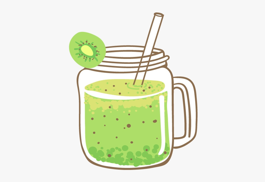 Juice smoothie clip art. Drink clipart green drink