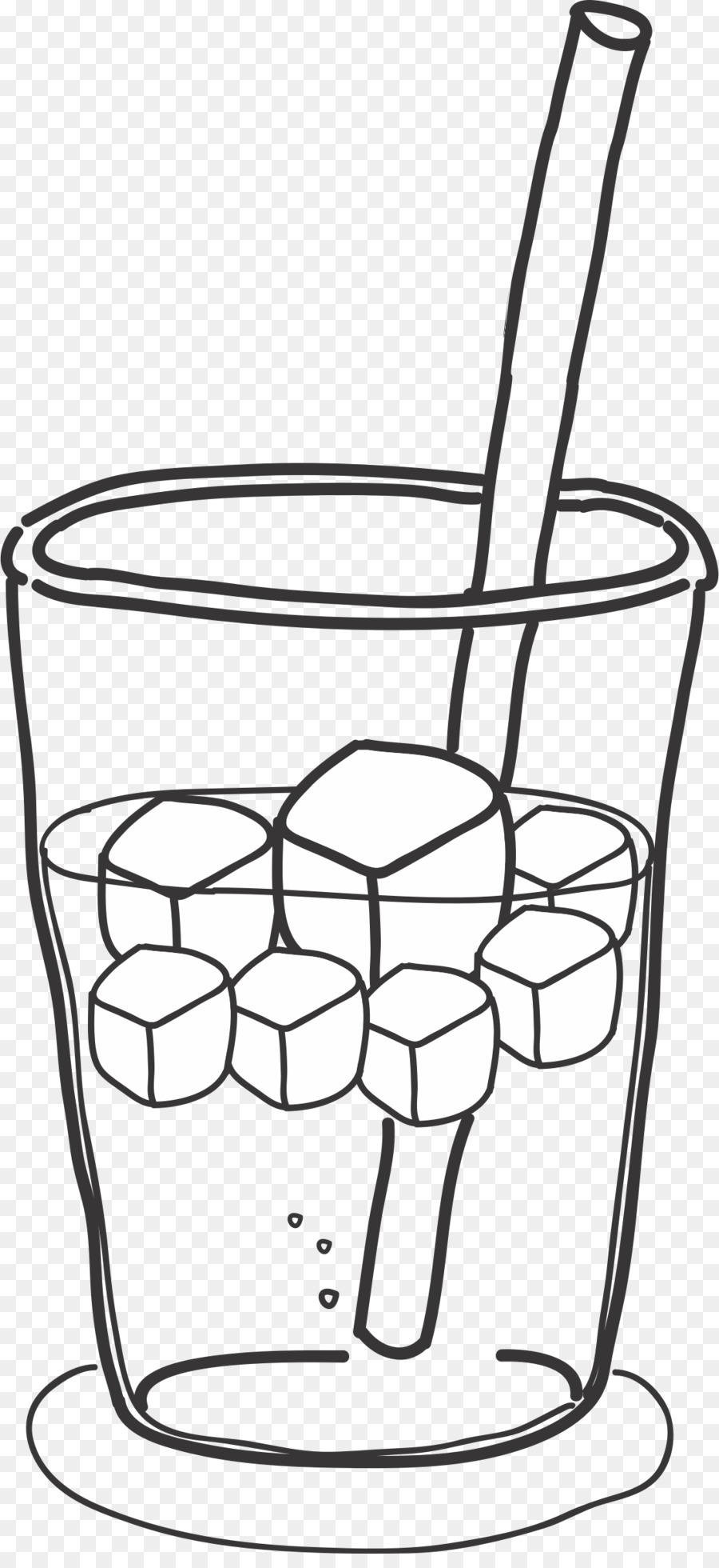 Book black and white. Drink clipart ice drink