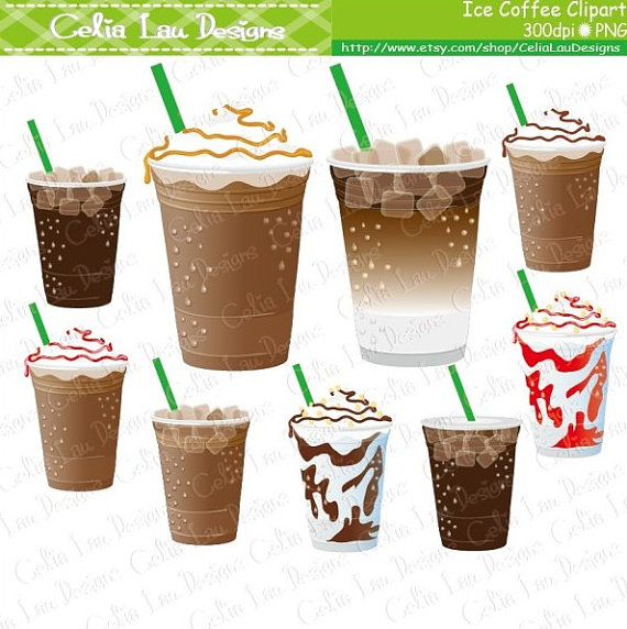 Coffee clip art ice. Drink clipart iced drink