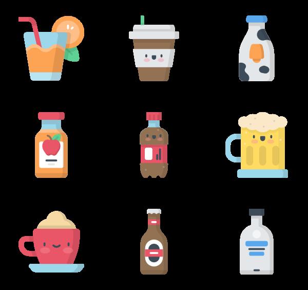 Drinks clipart kawaii. Graphics pinterest icon font