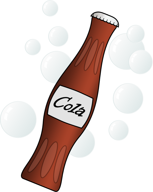 collection of cold. Drinks clipart kawaii