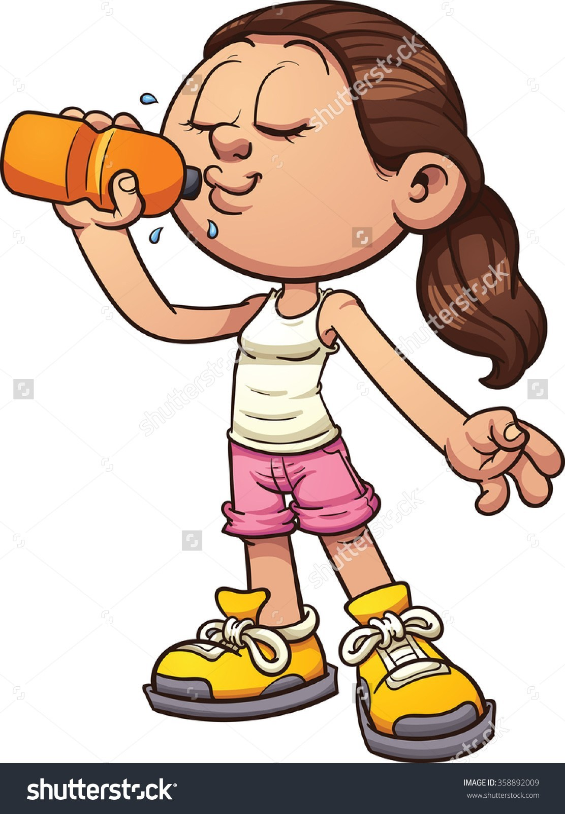 Drink clipart kid drink. Juice pencil and in
