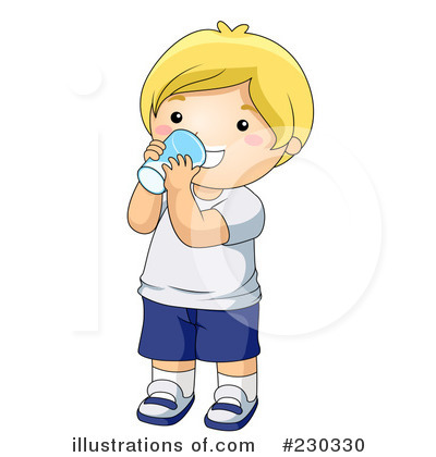 Drinking illustration by bnp. Drink clipart kid drink