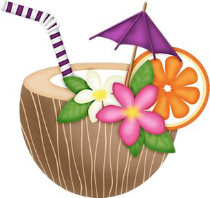 Graphics free download best. Drink clipart luau