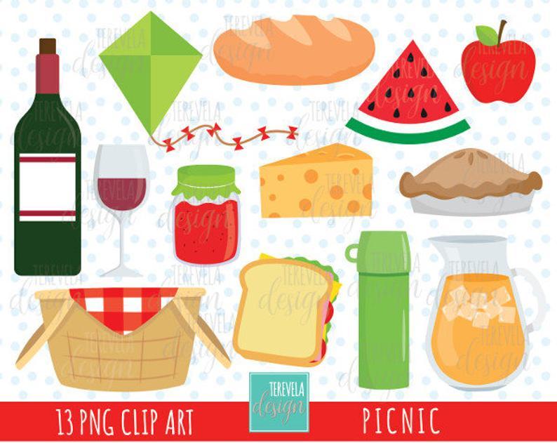 Foods clipart picnic.  sale party commercial
