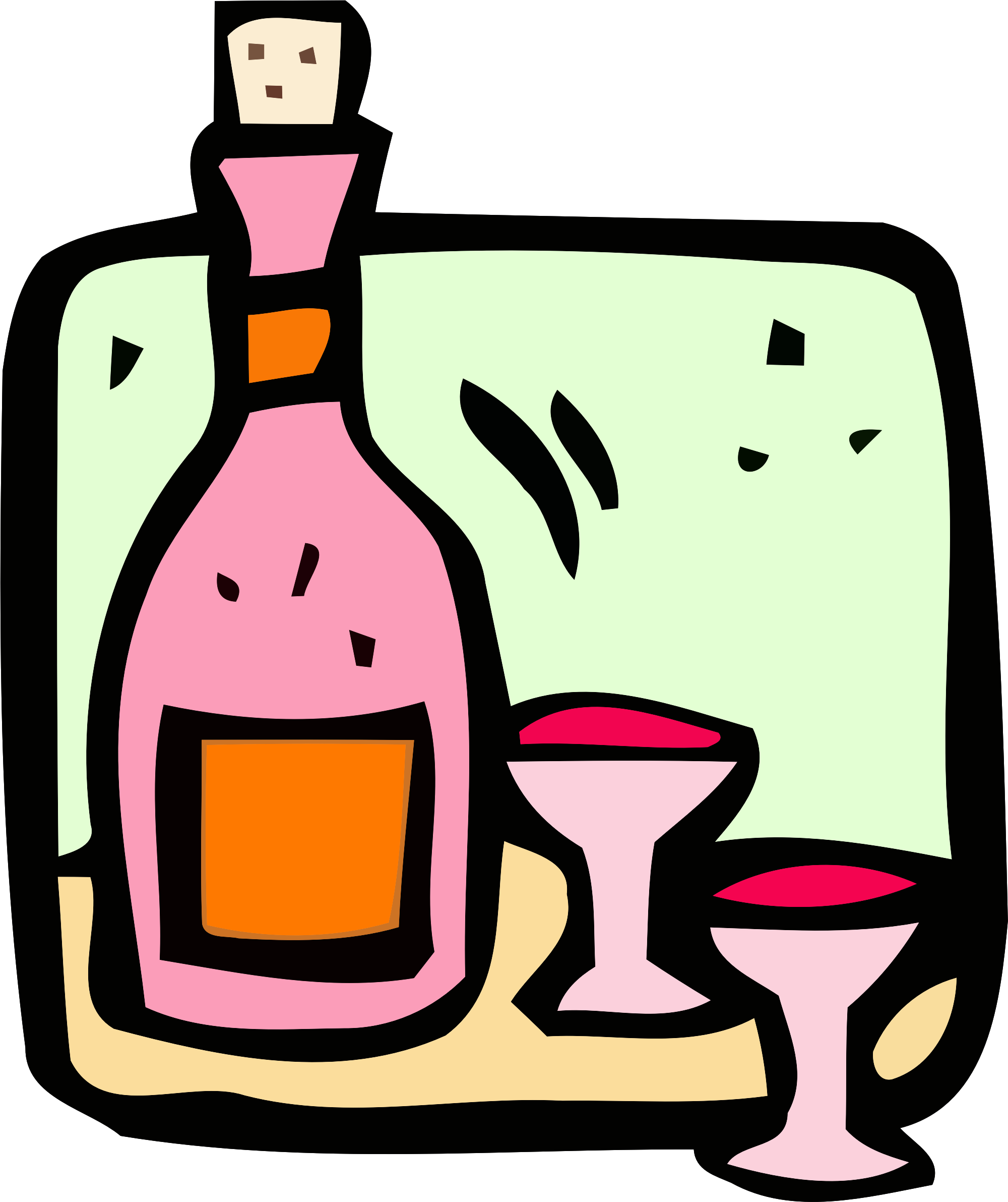 Food and icon wine. Drink clipart pink drink