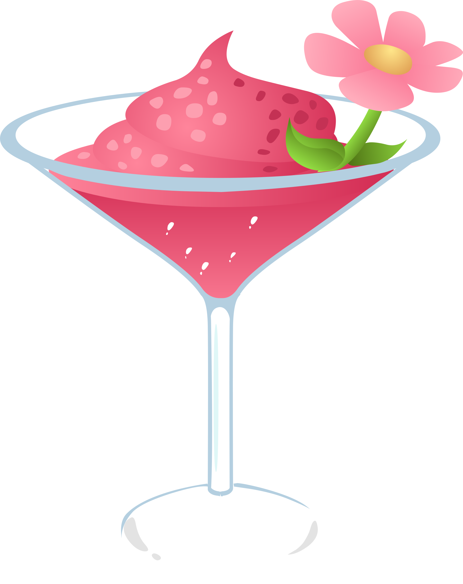Drink clipart pink drink. Gurly big image png