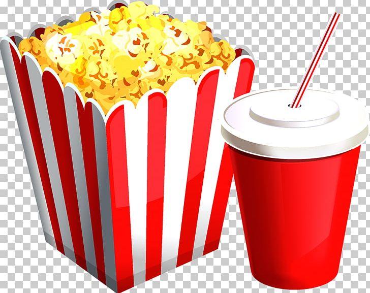 Drinks clipart popcorn. Soft drink png baking