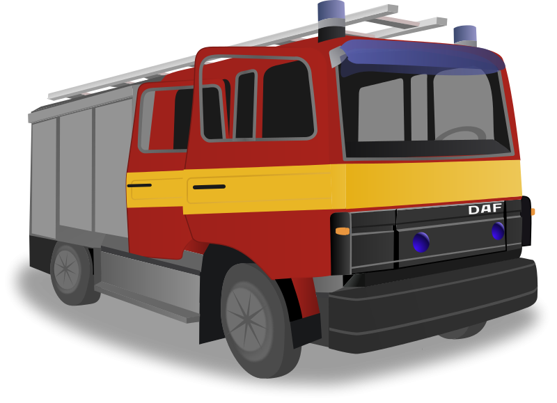 Fireman clipart truck. Fire free to use