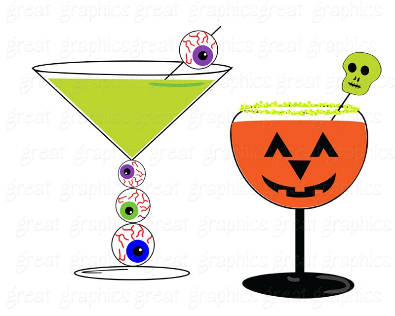 Free halloween cliparts download. Drinks clipart spooky