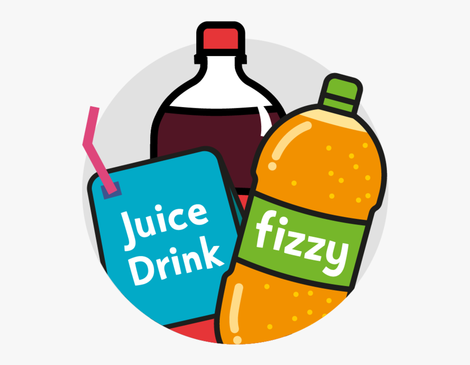 Kids are getting a. Drink clipart sugary drink