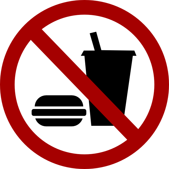 No eating drinking sign. Drink clipart welcome drink