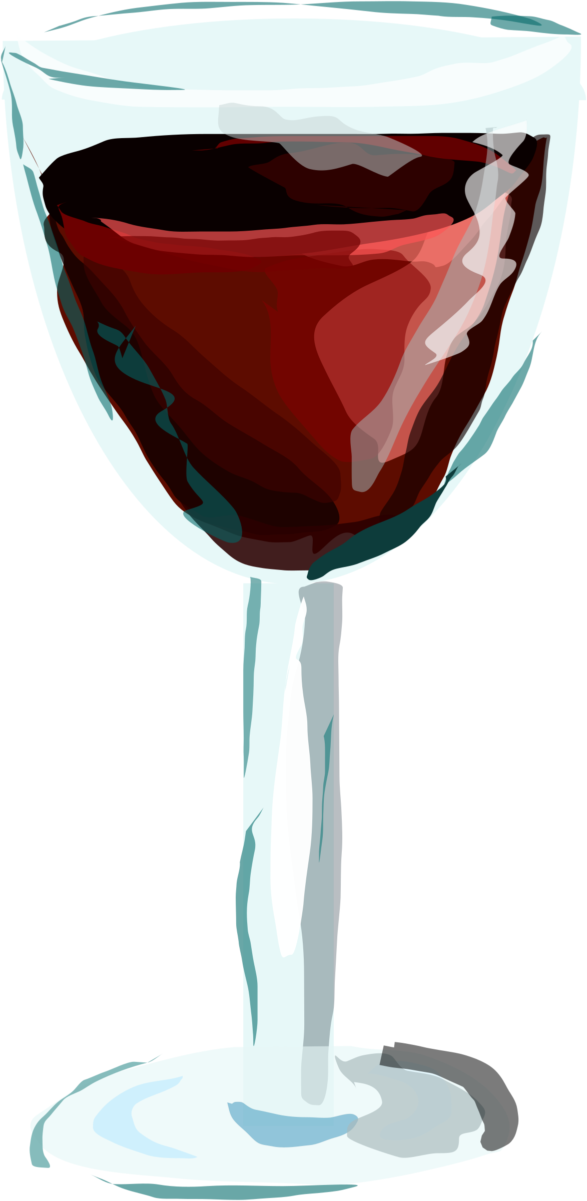 Drinking clipart cup wine. Red glass big image