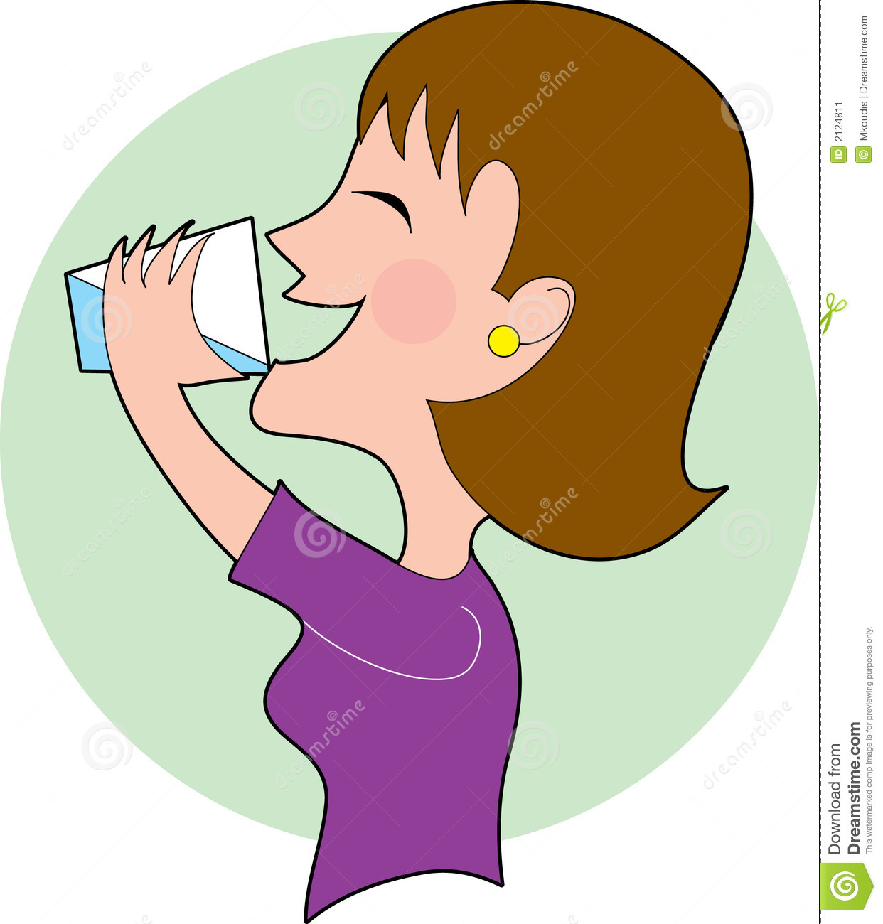 Drinking clipart. Water free