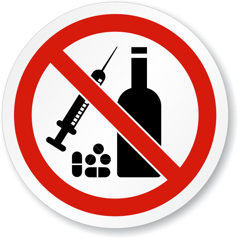 drugs clipart sign