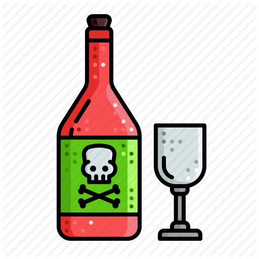 halloween by chamestudio. Drinking clipart alcohol poisoning
