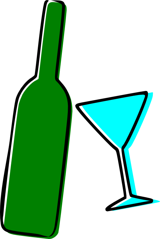 Drinking clipart brandy bottle. Alcohol i royalty free