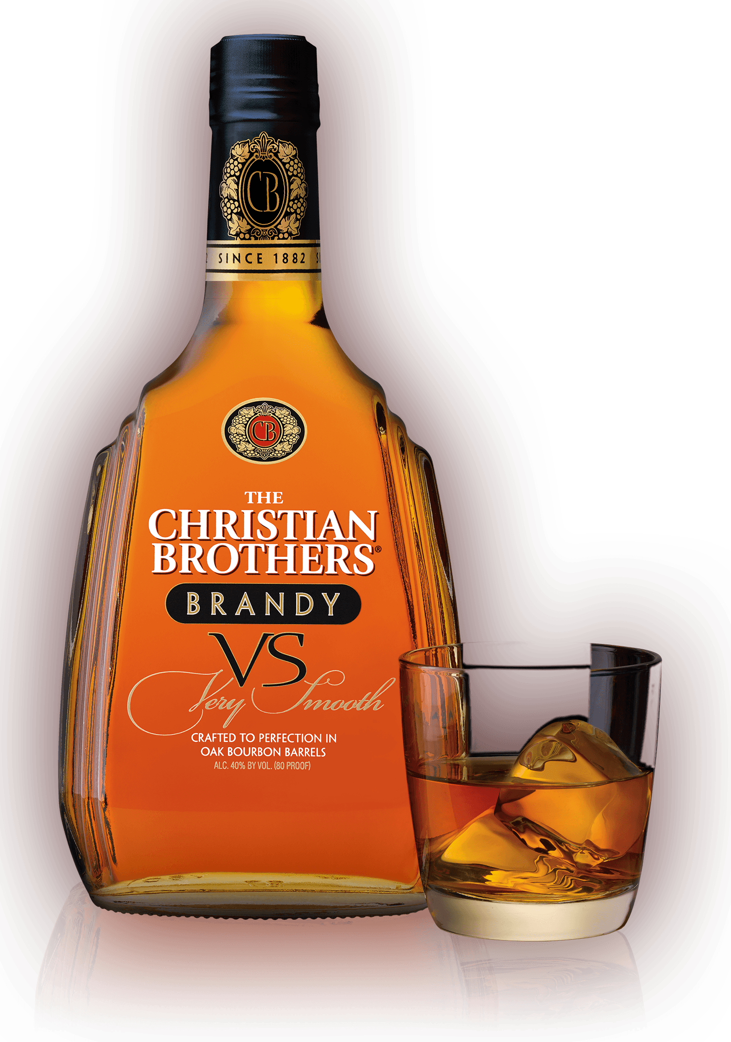 Christian brothers . Drinking clipart brandy bottle